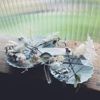 40 Dreird flowers ヘッドドレス  ニュアンス・オブ・ホワイト(ヘッドドレス/ドレス)