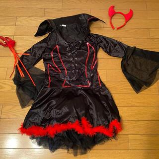 ハロウィン コスプレ デビル 悪魔 衣装セット(衣装一式)