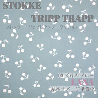 ストッケ(Stokke)の♡Stokke クッションセット さくらんぼ♡03.くすみブルー(その他)
