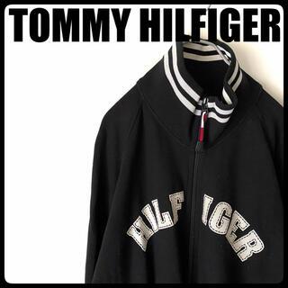 トミーヒルフィガー(TOMMY HILFIGER)の■TOMMY HILFIGER■ 古着 メンズ レディース ブルゾン スウェット(ブルゾン)
