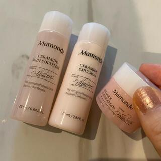 マモンド セラミドシリーズ 化粧水,乳液,クリーム(サンプル/トライアルキット)