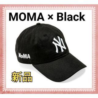 モマ(MOMA)の【新品】 MOMA x Yankees New Era Cap ブラック(キャップ)
