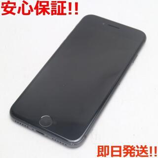 アイフォーン(iPhone)の美品 au iPhone8 64GB スペースグレイ  (スマートフォン本体)