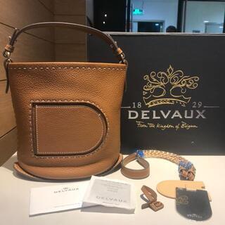 ドゥロワー(Drawer)のdelvaux デルヴォー pin mini bucket(ハンドバッグ)