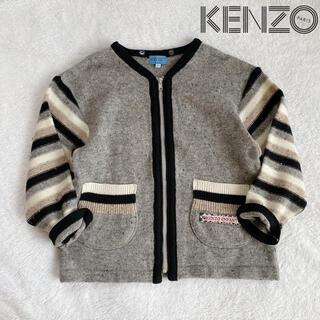 KENZO - 希少 90年代 ヴィンテージ KENZO ENFANT ニット カーディガン