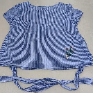 フランシュリッペ(franche lippee)の刺繍トップス(シャツ/ブラウス(半袖/袖なし))