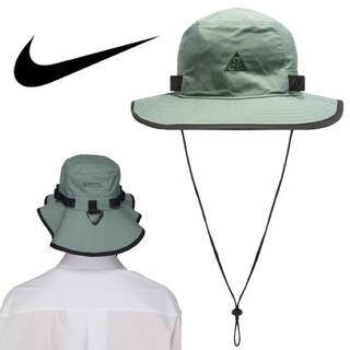 ナイキ(NIKE)の新品!NIKE ACG GORE-TEX Bucket Hat Green(ハット)