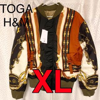 トーガ(TOGA)の正規 Toga Archives x H&M リバーシブルフライトジャケット(フライトジャケット)