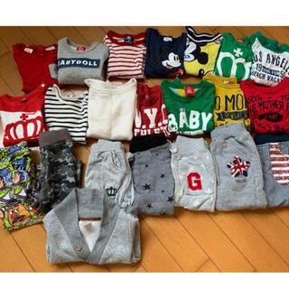 ベビーギャップ(babyGAP)の子供冬服 70.80.90cmまとめ売り(Tシャツ)
