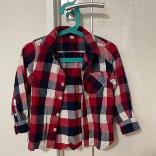 ムジルシリョウヒン(MUJI (無印良品))のチェックシャツ(ブラウス)