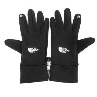 ザノースフェイス(THE NORTH FACE)のザノースフェイス 手袋 グローブ 滑り止め付き L 黒 NF00CP9N(手袋)