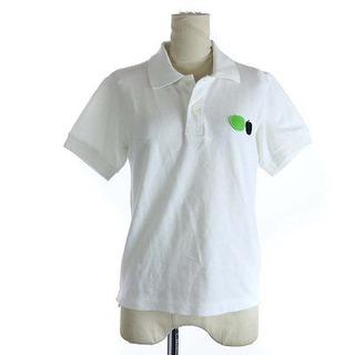 コムデギャルソン(COMME des GARCONS)のコムデギャルソン ×ビートルズ AD2015 コムコム ポロシャツ XS 白 緑(ポロシャツ)
