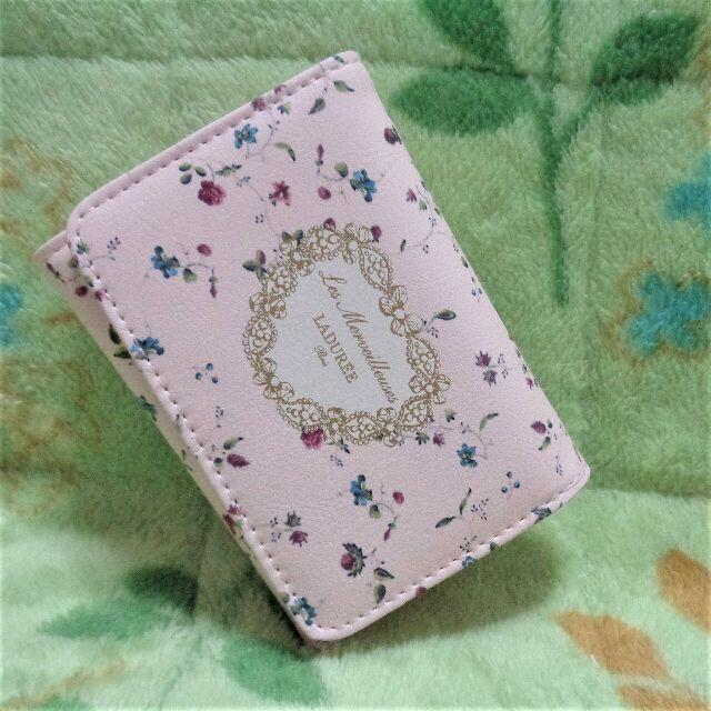 Les Merveilleuses LADUREE(レメルヴェイユーズラデュレ)の☆雑誌「GLOW」付録♪ 「レ・メルヴェイユーズ ラデュレ」の三つ折りミニ財布☆ レディースのファッション小物(財布)の商品写真