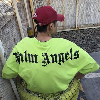 Palm Angels Tシャツ オーバーサイズ 新品未使用  XL(Tシャツ/カットソー(半袖/袖なし))