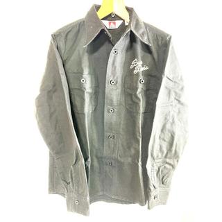 ベンデイビス(BEN DAVIS)のben davis ワークシャツ 黒 Mサイズ(シャツ)