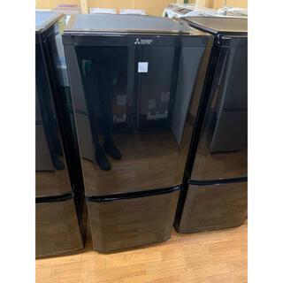 ミツビシデンキ(三菱電機)の(洗浄・検査済み)MITSUBISHI 冷蔵庫 146L 2019年製(冷蔵庫)