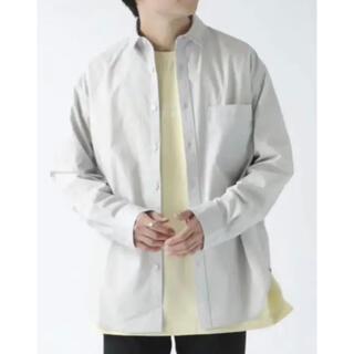 RAGEBLUE - 美品 RAGEBLUE レイジブルー コットンシャツ ライトグレー 羽織 長袖