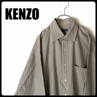 ケンゾー(KENZO)の美品 ■KENZO■ ケンゾー シャツ 古着 メンズ チェックシャツ(シャツ)