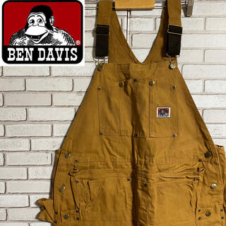 BEN DAVIS - 90s 古着 ベンデイビス オーバーオール サロペット デッドストック ゆるだぼ
