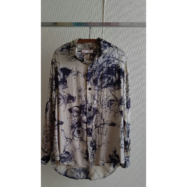Paul Harnden(ポールハーデン)のGeoffrey B.Small EVOLUTIONシルクシャツ メンズのトップス(シャツ)の商品写真