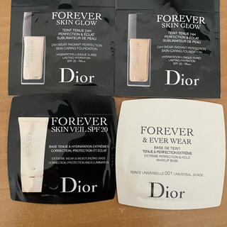 クリスチャンディオール(Christian Dior)のディオール Dior 化粧下地 ファンデーション サンプル(化粧下地)