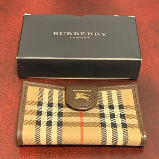 バーバリー(BURBERRY)の極美品! 販売終了品 バーバリー ロンドン 4連キーケース(キーケース)