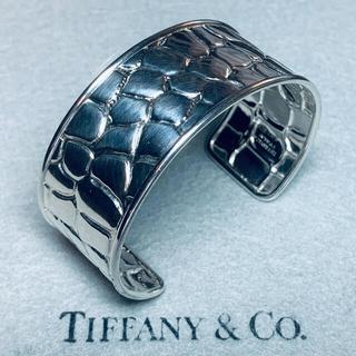 ティファニー(Tiffany & Co.)のVINTAGE TIFFANY ティファニー クロコダイル カフ ブレスレット(ブレスレット)