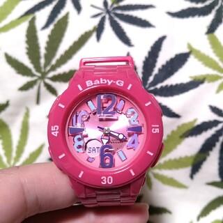 ベビージー(Baby-G)の値下げ☆CASIO Baby-G bga-171 ジーショック ピンク(腕時計)