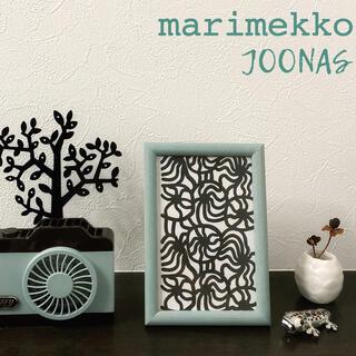マリメッコ(marimekko)のマリメッコ ヨーナス ポストカード フレーム モノトーン ホワイト ブラック(インテリア雑貨)