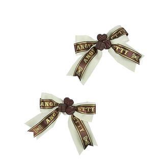 アンジェリックプリティー(Angelic Pretty)のChocolat DollクリップSet(バレッタ/ヘアクリップ)