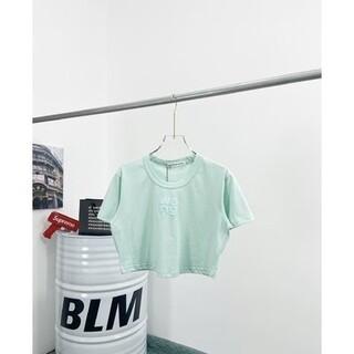 アレキサンダーワン(Alexander Wang)のAlexanderWang デニムのへそ半袖 B-1145(Tシャツ(半袖/袖なし))
