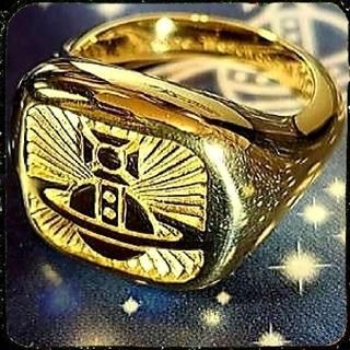 ヴィヴィアンウエストウッド(Vivienne Westwood)の新品・CLEMENTE Ring Gold sizeM(リング(指輪))