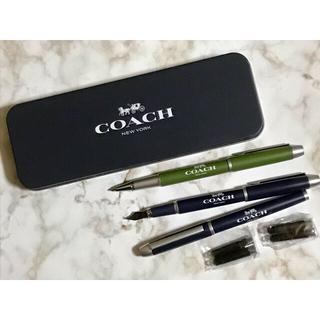 コーチ(COACH)のCOACH ボールペン&万年筆セット✰︎(ノベルティグッズ)