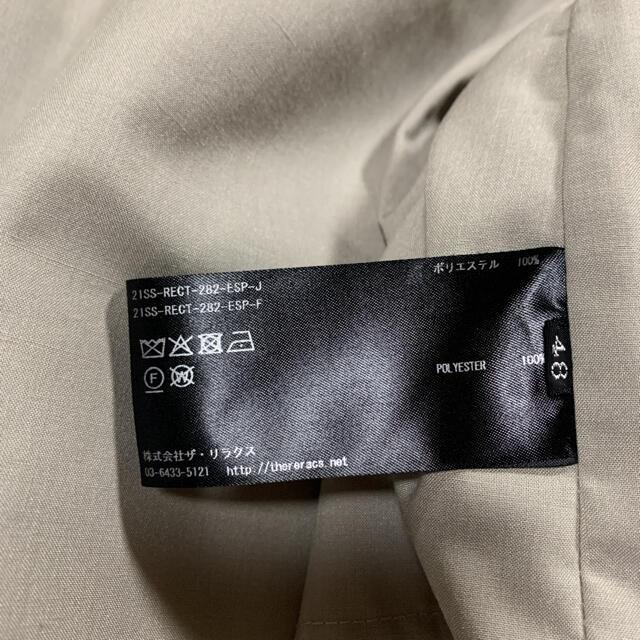 THE RERACS 21SS  美品 値下げ メンズのジャケット/アウター(マウンテンパーカー)の商品写真