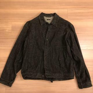 コモリ(COMOLI)の※えだまめ様専用※comoli 21SS デニムジャケット BLACK/ECRU(Gジャン/デニムジャケット)