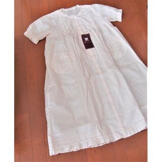 ワコール(Wacoal)の💓新品・ワコール ネグリジェ・ 前開き・ 半袖・綿100%・サイズ M💓(パジャマ)