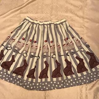 エミリーテンプルキュート(Emily Temple cute)のエミリーテンプルキュート うさぎチョコ(ひざ丈スカート)