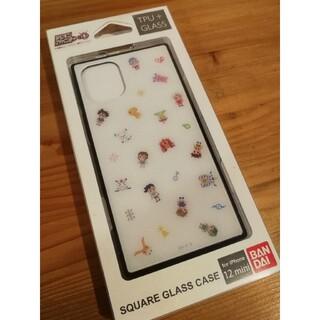 バンダイ(BANDAI)のデジモンアドベンチャー iPhone12 mini対応 スクエアガラスケース (iPhoneケース)