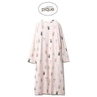 ジェラートピケ(gelato pique)のジェラートピケ うさぎモチーフドレス(ルームウェア)
