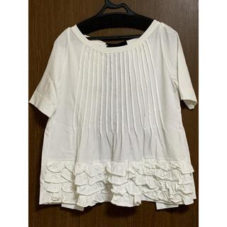 マルニ(Marni)のmarni 後ろリボンカットソー(Tシャツ(半袖/袖なし))