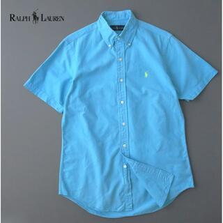 ラルフローレン(Ralph Lauren)のラルフローレン クロスガーゼコットン ボタンダウンシャツ(シャツ)