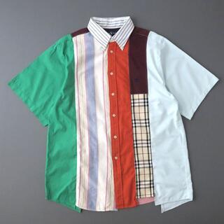 ラルフローレン(Ralph Lauren)の一点物◎ラルフローレン リメイクパッチワークシャツ/マルチカラー(シャツ)