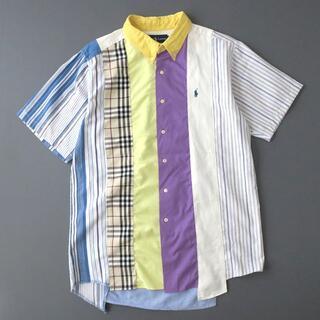 ラルフローレン(Ralph Lauren)の一点物◎ラルフローレン リメイク クレイジーパターン パッチワークシャツ(シャツ)