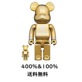 メディコムトイ(MEDICOM TOY)のBE@RBRICK mastermind JAPAN GOLD 400% 100(その他)