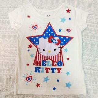 サンリオ(サンリオ)のハローキティ☆ラメTシャツ☆サイズ2T(Tシャツ)
