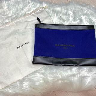 バレンシアガ(Balenciaga)の『中古』BALENCIAGA クラッチバッグ ブルー(セカンドバッグ/クラッチバッグ)