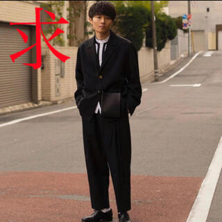 サンシー(SUNSEA)の【求】URU 20ss wool serge セットアップ(セットアップ)