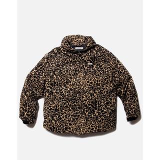 COOTIE - COOTIE Corduroy Leopard Oversized ダウンJKT