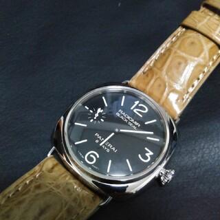オフィチーネパネライ(OFFICINE PANERAI)のPANERAI パネライ ラジオミール ブラックシール 8デイズPAM00609(腕時計(アナログ))