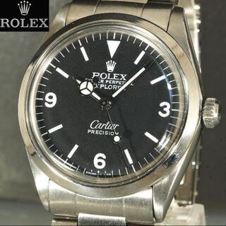 ロレックス(ROLEX)のロレックス カルティエ カスタム 自動巻 腕時計(腕時計(アナログ))